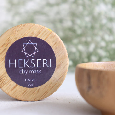 clay mask set - revive