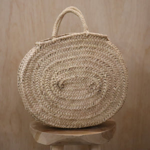 basket bag - sahara