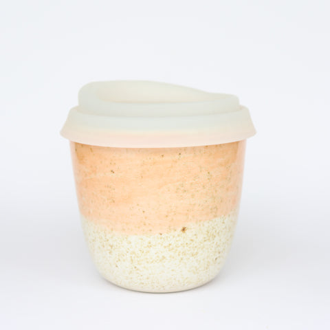 pottery keep cup - short