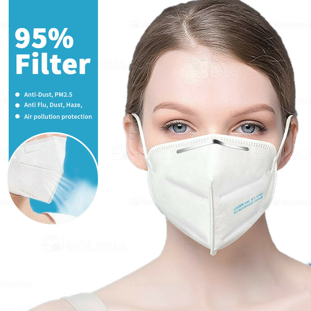 N95-KN95 Medical Face mask,Germ and Virus Protection masks,Activated Carbon Air Filter mask,Dust masks,Earloop masks 10PCS