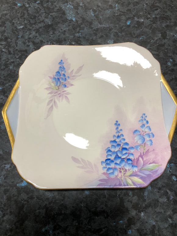 Shelley Plate with Gold Trim
