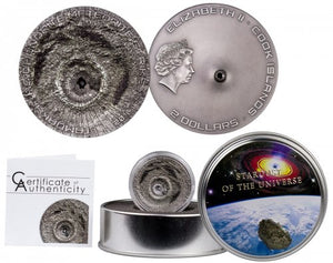 Star Dust of the Universe Coin with Certificate of Authenticity (Only 2,500 minted)