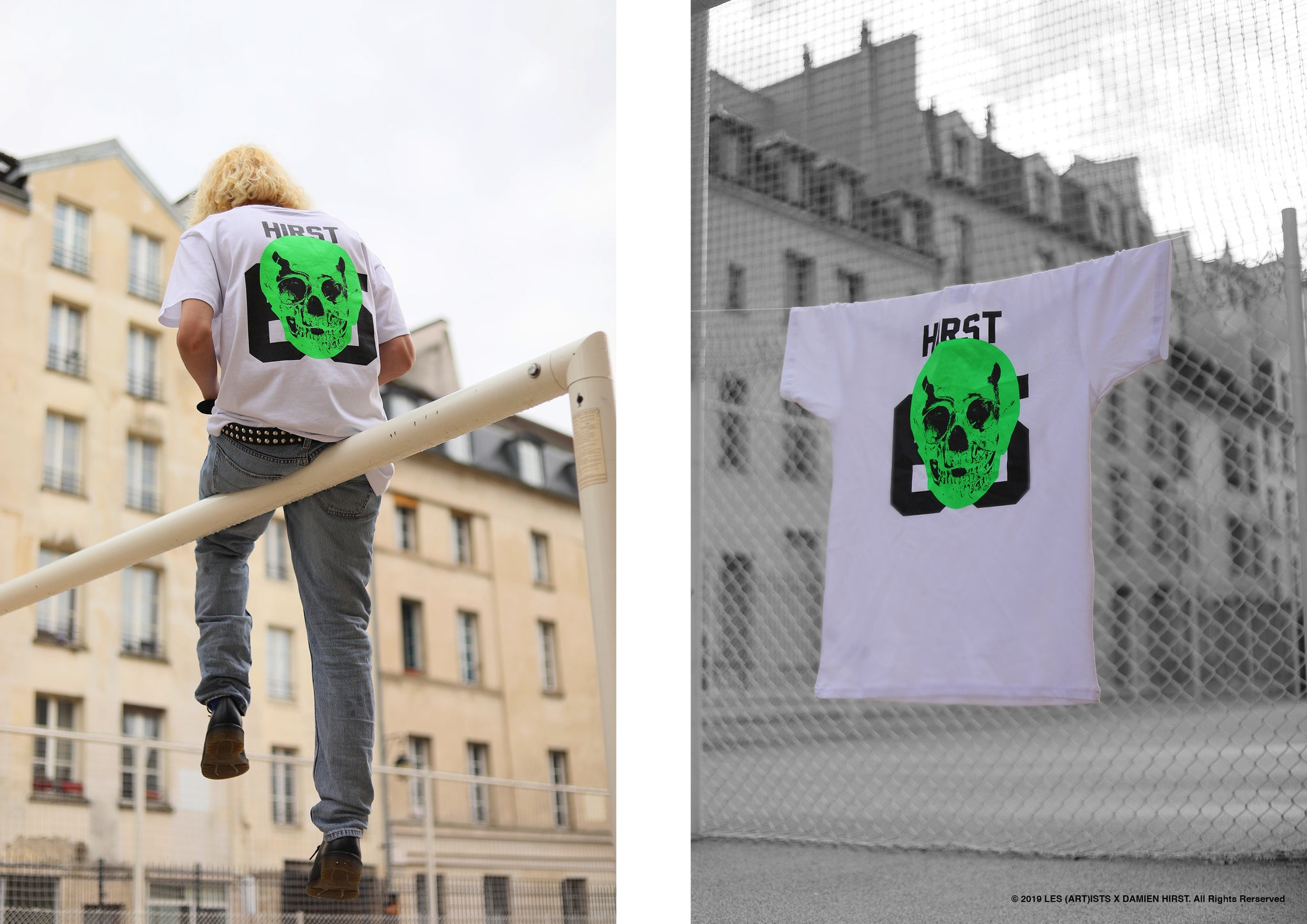 LOOKBOOK LES (ART)ISTS X DAMIEN HIRST