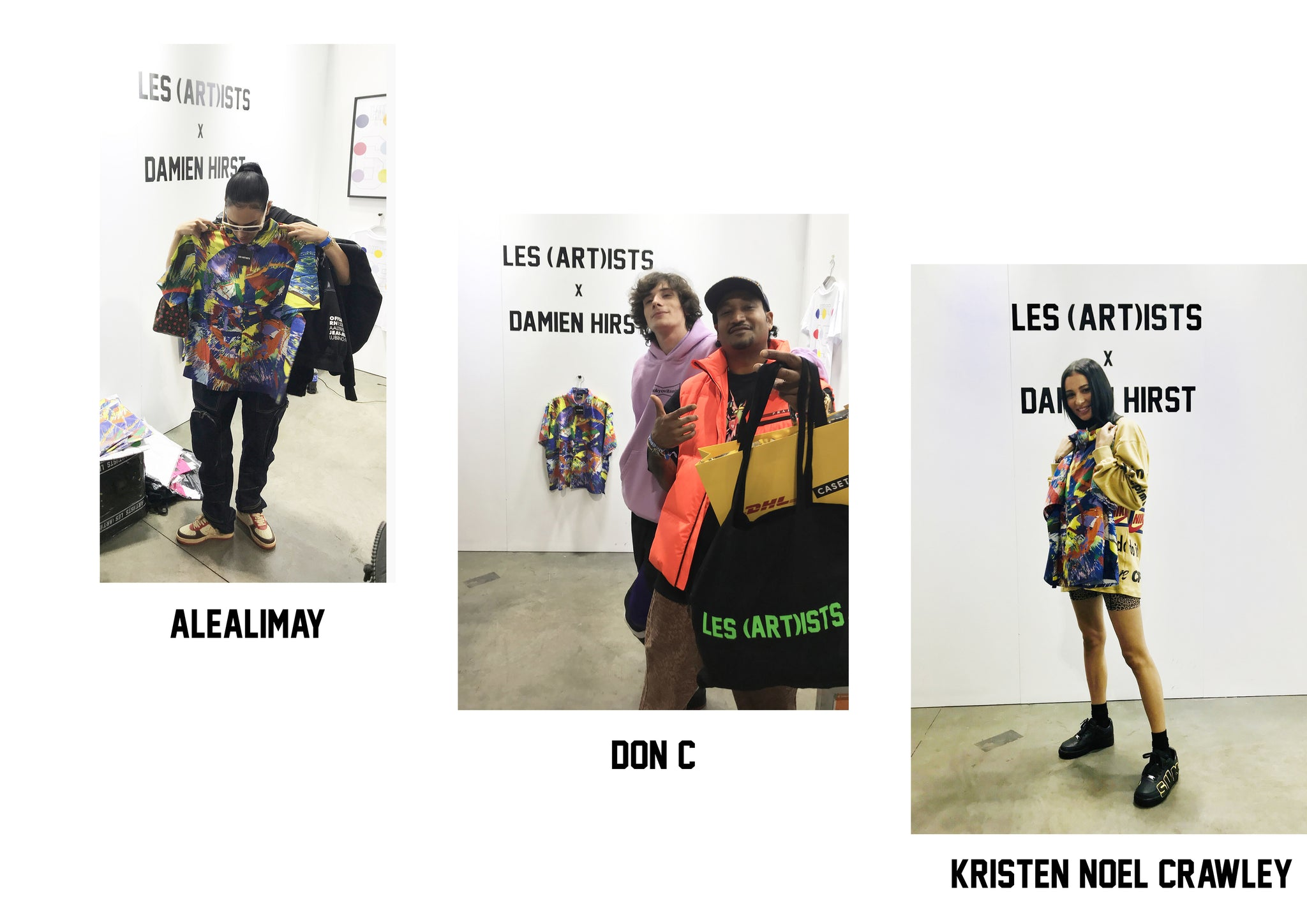 LES (ART)ISTS COMPLEXCON PEOPLE