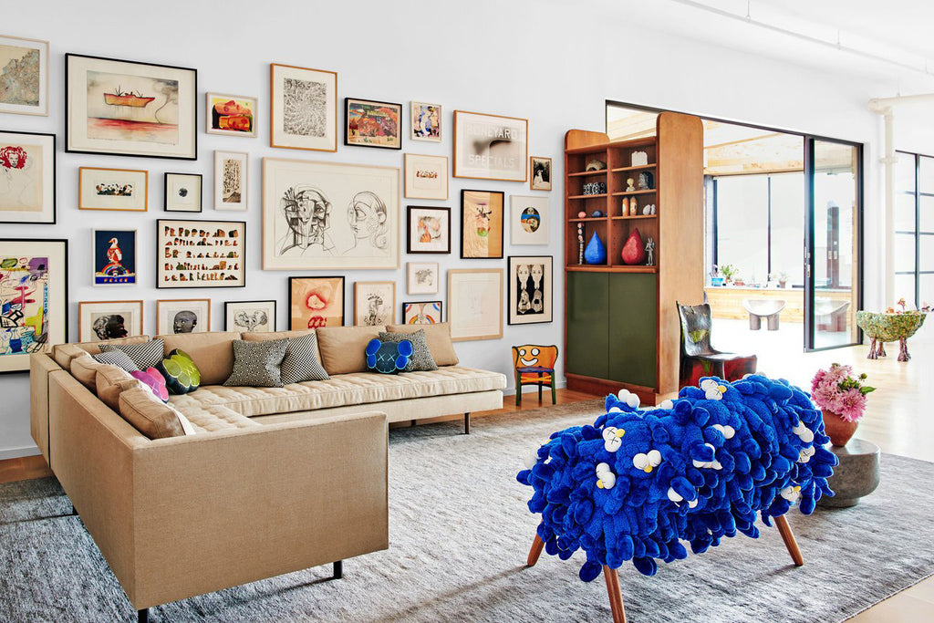 Kaws Home Architectural Digest LES (ART)ISTS