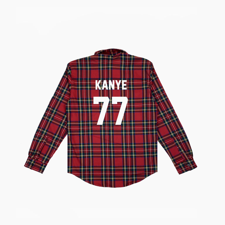 SHIRT FOOT KANYE77 - Red