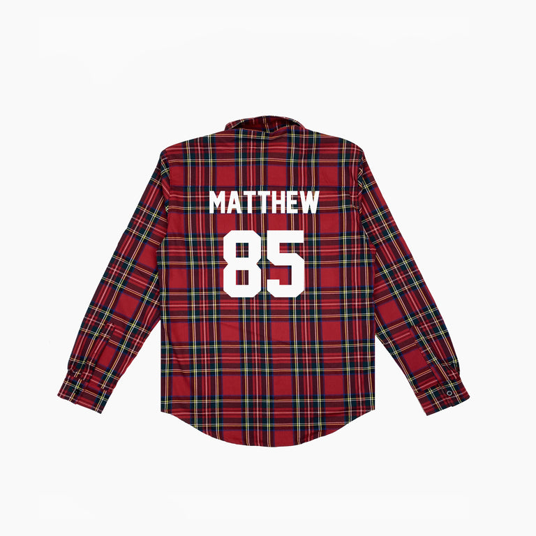 SHIRT FOOT MATTHEW85 - Red