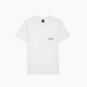 T-POCKET - White