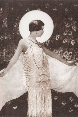 adolph de meyer chanel vogue vintage fashion dress public domain