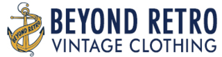 beyond retro vintage clothing logo