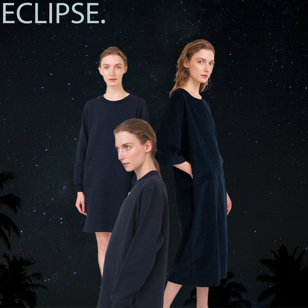 eclipse blue color sustainable summer trends dresses