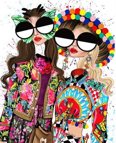 fashion illustration dolce and gabbana