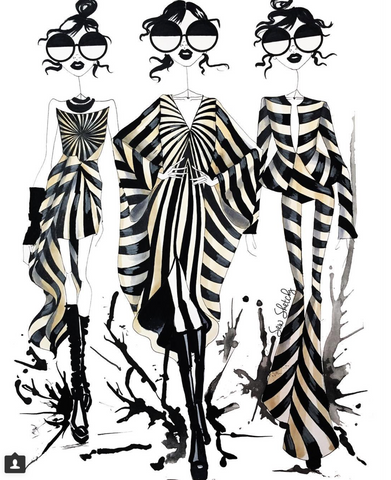 fashion illustration gareth pugh