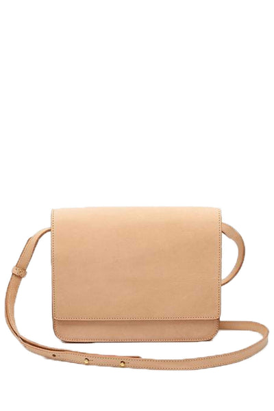 tan color crossbody leather bag