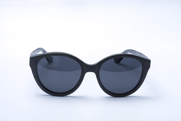 retro black cat eye sunglasses