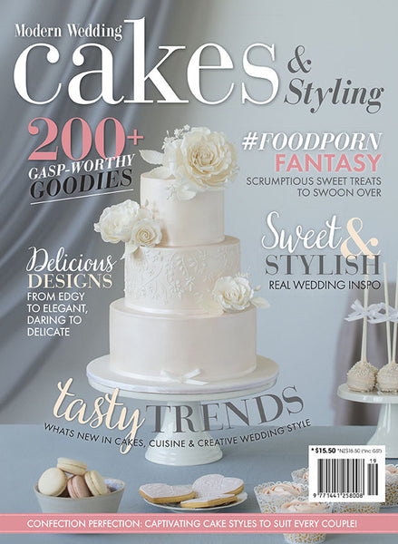 Modern Wedding Cakes And Styling