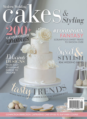 Modern Wedding Cakes & Styling Vol 19
