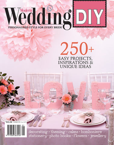 Modern Wedding DIY V1