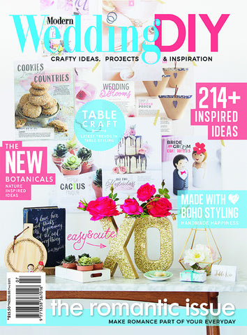 Modern Wedding DIY Vol 7