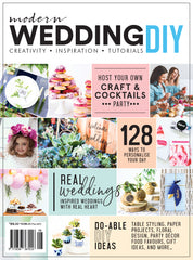 Modern Wedding DIY