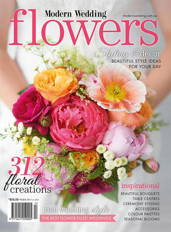 Modern Wedding Flowers V17