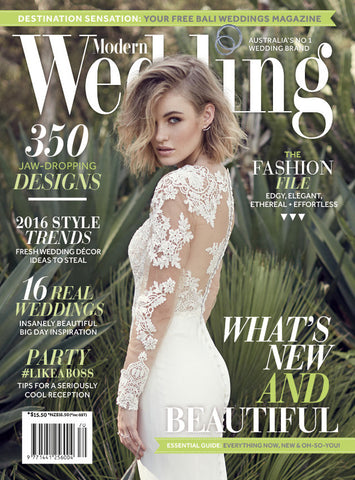 Modern Wedding Magazine Vol