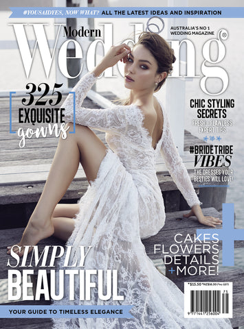 Modern Wedding Magazine Winter Vol 75