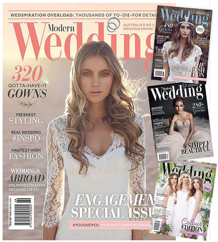 Modern Wedding Subscription (12 months/4 issues)