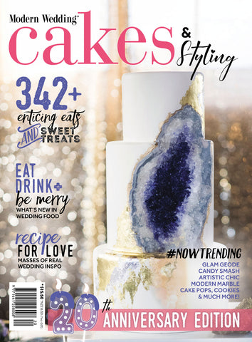 Modern Wedding Cakes & Styling Vol 20
