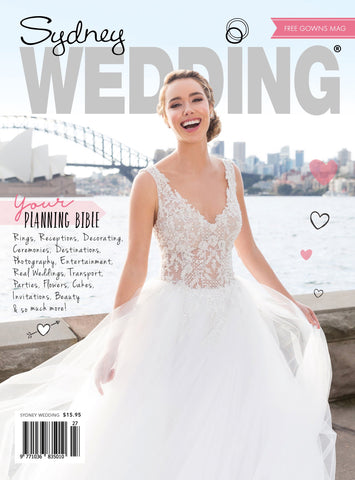 Sydney Wedding Magazine 2018 - Vol 27
