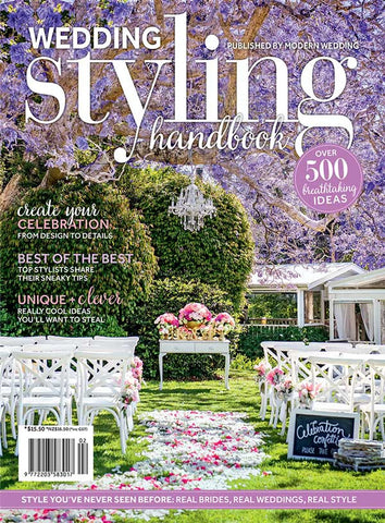 Modern Wedding Styling Handbook Vol 2