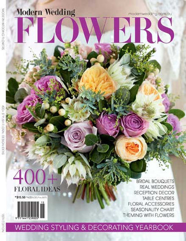 Modern Wedding Flowers V15