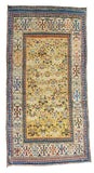 Antique Ivory Caucasian Area Rug