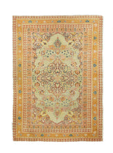 Load image into Gallery viewer, Antique Red Tabriz Haji Jalili Persian Area Rug