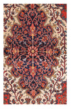 Antique Farahan Sarouk Persian Area Rug