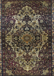 Antique Tehran Persian Area Rug