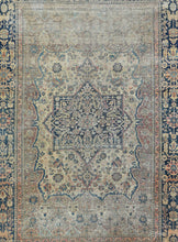 Load image into Gallery viewer, Antique Mohtasham Kashan Persian Area Rug