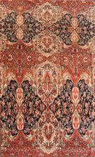 Load image into Gallery viewer, Antique Farahan Sarouk Persian Area Rug