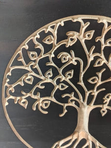 Tree of Life Engraved Wood Sign