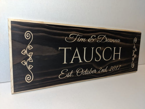Customizable Wedding Sign, Wedding Gift, anniversary gift, custom Engraved Wood Sign