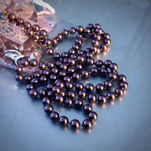 Darkest Rose Pearls