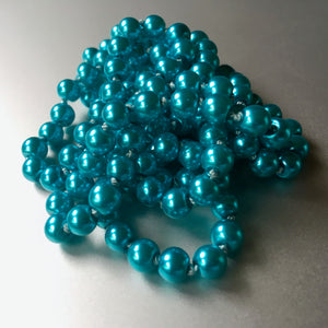 Caribbean Luminous Turquoise Pearls