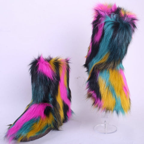ICEY FUR BOOTS
