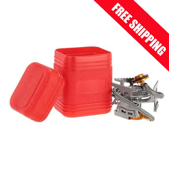 Mini Folding Camping gas Stove