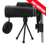 Zoom Lens for Mobile Phones + Bonus Tripod