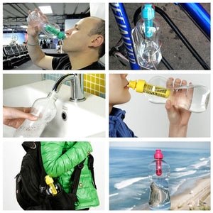 Water Filter Bottles Activated Carbon