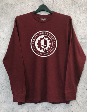 All Hail Long Sleeve Crewneck Tee