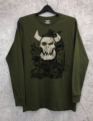 Dakka Long Sleeve Crewneck Tee