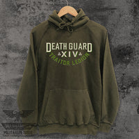 Death Guard Traitor Legion Vintage Washed Hoodie