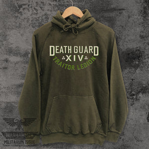 Death Guard Traitor Legion Mineral Washed Hoodie